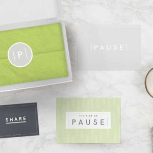 Mind charity pause box